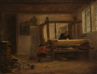A weaver's workshop
