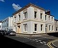 Corner of Powells Place and Lower Dock Street, Newport (geograph 4175902).jpg
