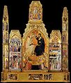 Coronation of the Virgin Bartolo di Fredi Montalcino, Museo civico d'Arte sacra.jpg