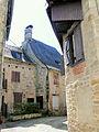 Corrèze - Rue au sud de l'église.JPG
