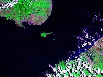 Corregidor - Corregidor Island and the entrance to Manila Bay.