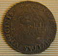 Cosimo I duke of florence and siena coins 1557-68, giulio con vista di siena.JPG