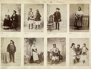Costumes of Sardinia 1880s 01