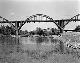 Cotter Bridge - Cotter Bridge, 1988