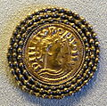 Counterfeit after Louis the Pious solidus, 9th century AD - Bode-Museum - DSC02662.JPG