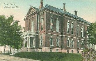 Somerset County, Maine - Image: Courthouse, Skowhegan, ME