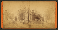 Courthouse and Congressional Church in Wiscasset, Lincoln Co., Maine, by J. A. Coombs.png
