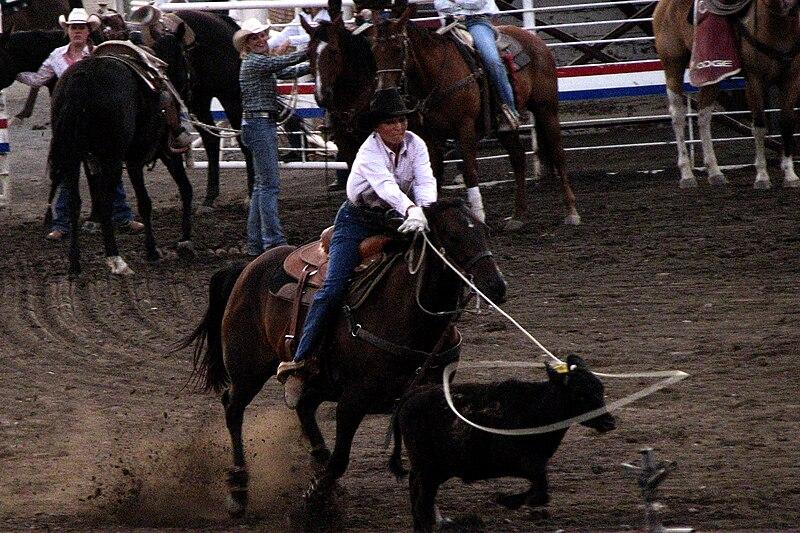 File:Cowgirl Lasso 4889218394.jpg