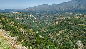Kouloukonas - Landscape around Agios Ioannis
