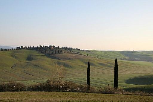 Paesaggio tra le laghetti di Santa Caterina e Menchiari
