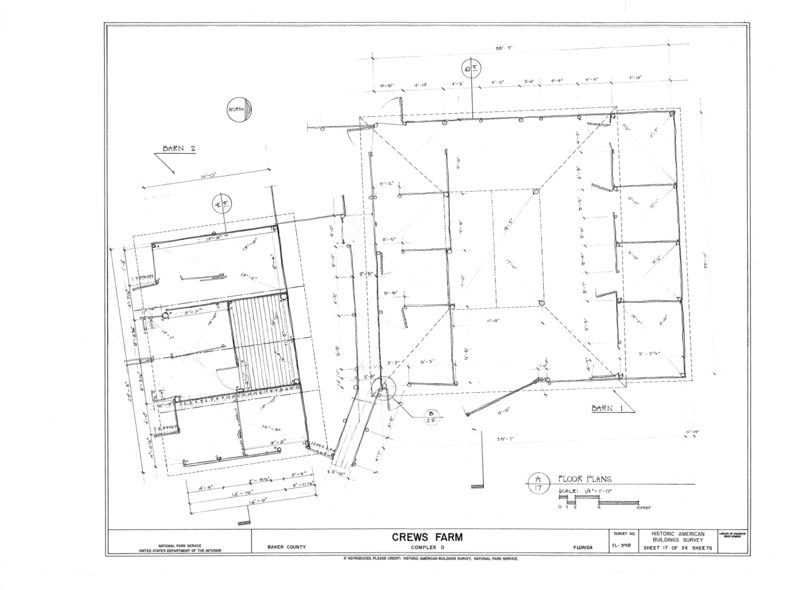 File:Crews Farm, Macclenny, Baker County, FL HABS FL-398 (sheet 17 of 24).tif