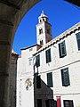 Croatie Dubrovnic Monastere Dominicain Eglise Clocher - panoramio.jpg
