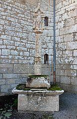 croix du cimetière de Buléon