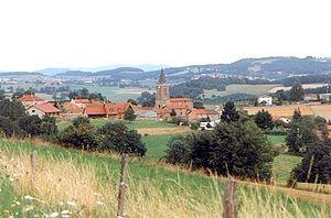 Croizet-sur-Gand - A general view of Croizet