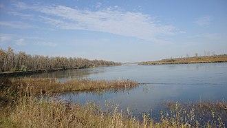 Oliver County, North Dakota - Image: Cross Ranch State Park, North Dakota (5069906194)