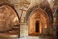 Crypte de l'église de Gargilesse-Abside sud-20120429.jpg