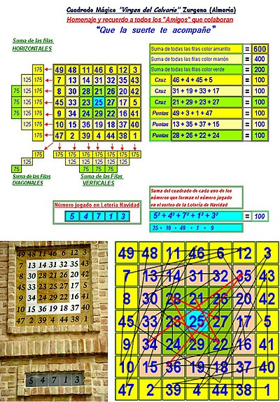 5cf5870a1 Cuadrado mágico - Wikipedia