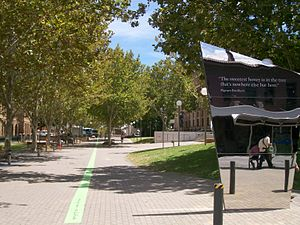 Perth Cultural Centre - Eastern entry to James Street Mall