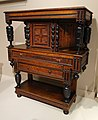 Cupboard, possibly by Emery Shop, probably Newbury, Massachusetts, c. 1680, oak with maple, black walnut, sycamore, poplar - Winterthur Museum - DSC01353.JPG