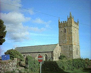 Cury - The Church of St Corentin, Cury