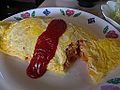 Cutopen-local-shop-omurice-with-ketchup-Japan-nov2014.jpg