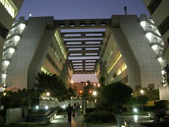 Satellite town - Cyber gate way hi-tecc IT park hyderabad, India.