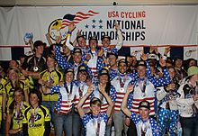 FLC's 2011 National champion cycling team