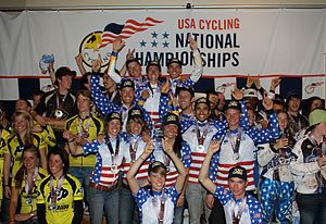 Fort Lewis Skyhawks - FLC Cycling won USA Cycling's team 2011omnium national championship title in mountain biking at Angel Fire, NM