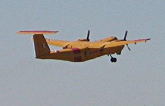 De Havilland Canada DHC-5 Buffalo - A DHC-5 Buffalo taking off