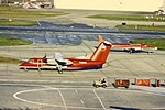 DHC-8-100 (Northwest Airlink) N852MA at DTW (16001816969).jpg