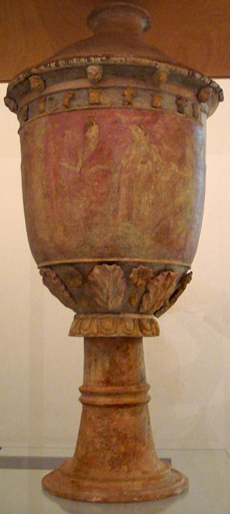 Centuripe ware - Another vase in Palermo