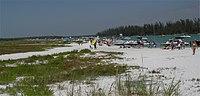 DSC03623 Keeywaydin Island's public beach.JPG