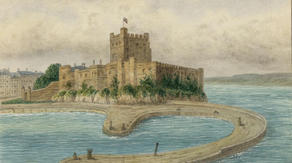 DV405 no.228 Castle of Carrickfergus
