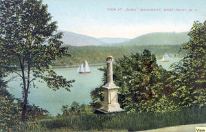 Dade Monument (West Point) - Image: Dade Monument at West Point prior to 1898