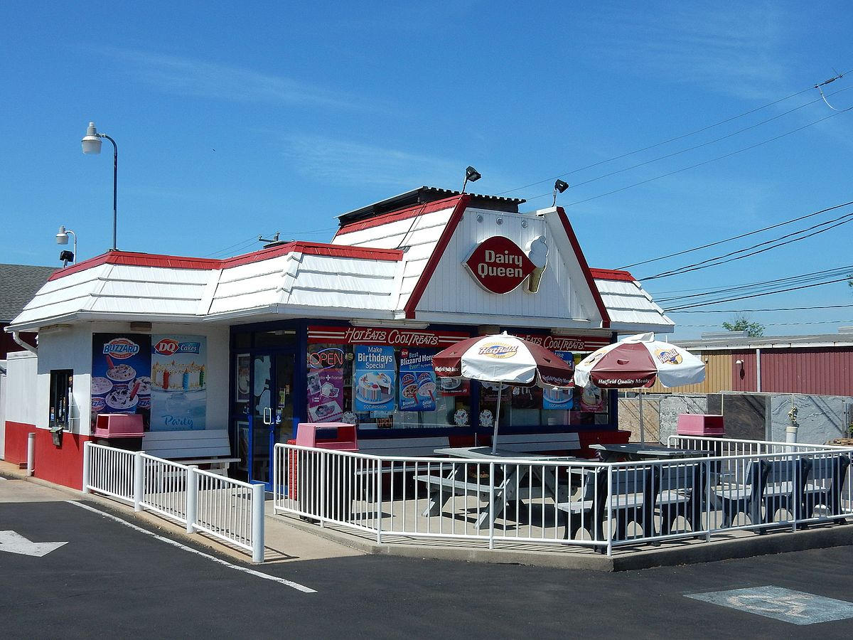 Dairy Queen on Main St, Dublin PA.JPG