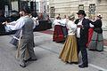Dancing in traditional dress - Ljubljana (15616385435).jpg