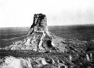 Courthouse and Jail Rocks - Image: Darton 1897 Jail Rock