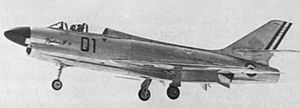 Dassault Mystère IV - The only Mystère IVN in flight.