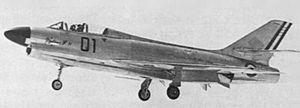 Dassault Mystère IV - The only Mystère IVN in flight.