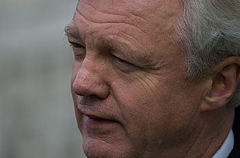 English: David Davis, British Conservative pol...