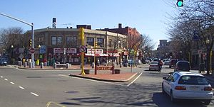 Davis Square, Somerville, Massachusetts