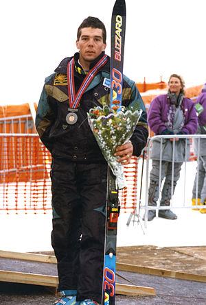 James Patterson (skier) - Australian medallist James Paterson at the 1994 Lillehammer Winter Games