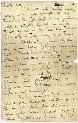 De Kafka Brief an den Vater 001
