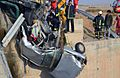 Deadly Road 44 of Iran Traffic collision - Nishapur road to Mashhad - Peugeot 405 with 5 seater - Four of them died at once- Nomvember 20,2013 02.JPG