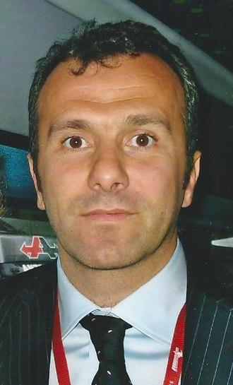 1994 European Super Cup - Dejan Savićević (pictured in 2007), was highly influential in Milan's win