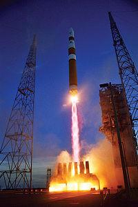 Delta IV Medium launch carrying DSCS III-B6