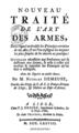 Demeuse Nicolas - Nouveau traité de l'art des armes, (BNF-303218760.png