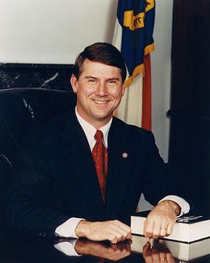 North Carolina lieutenant gubernatorial election, 1996 - Image: Dennis Wicker