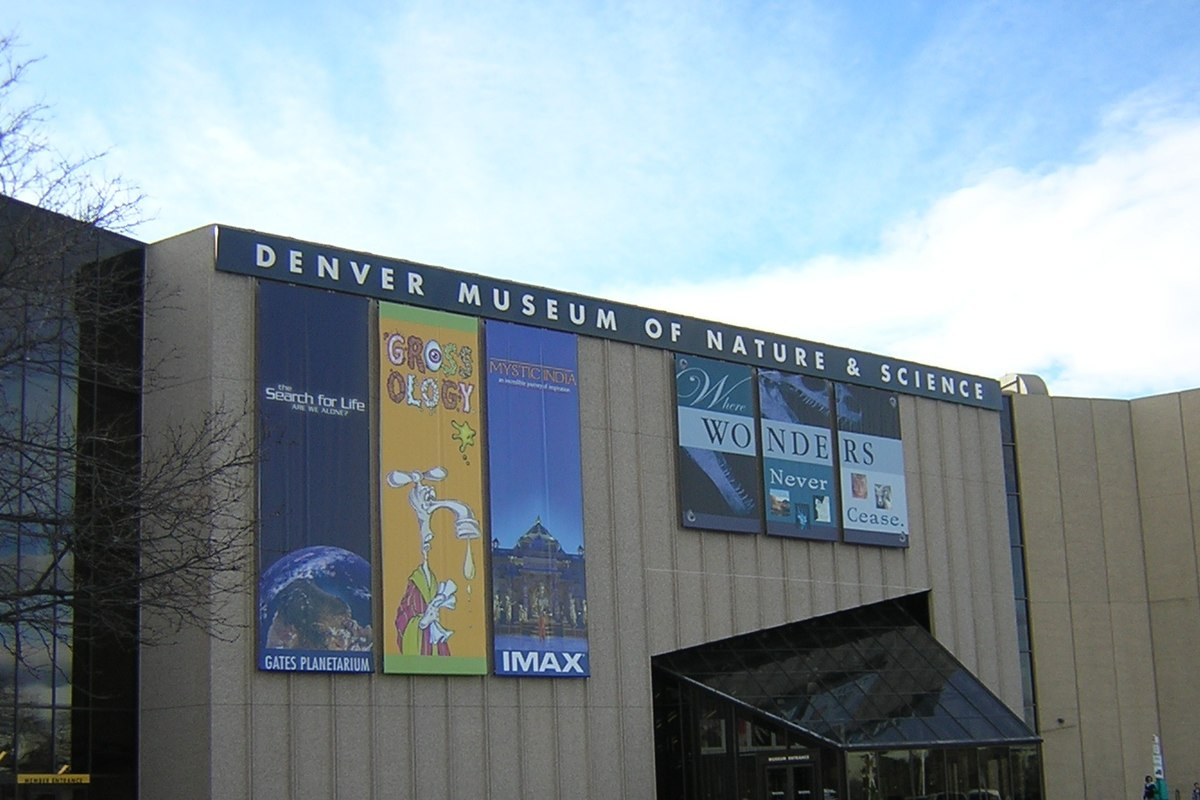 Exhibits At Denver Museum Of Nature And Science