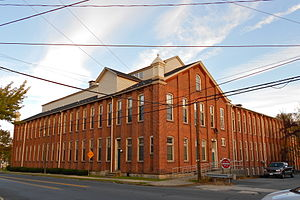 Catasauqua, Pennsylvania - Dery Silk Mill in the Biery's Port Historic District